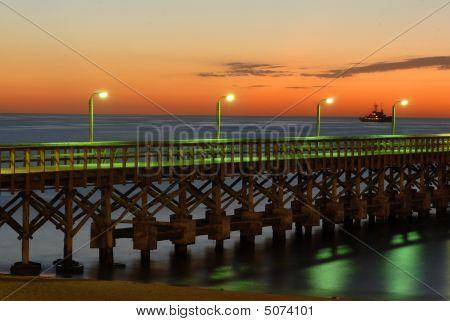 Punta Del Este Beach Pier