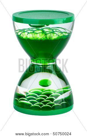 Green Gel Hourglasses