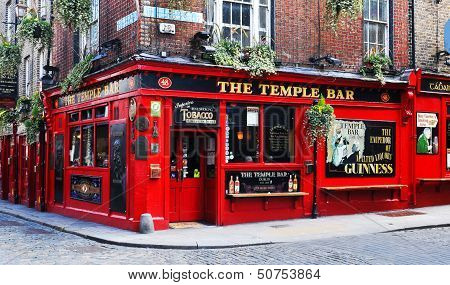 Temple Bar in Dublin