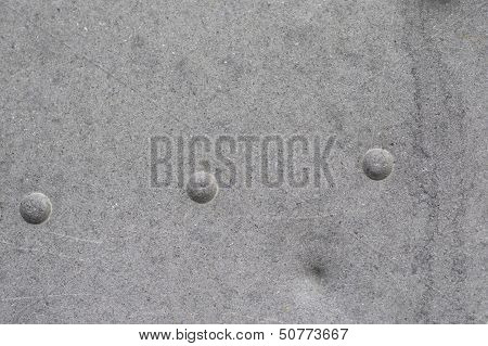 Metallic Texture With Rivets