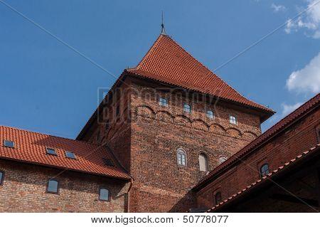 Nidzica Castle In Poland
