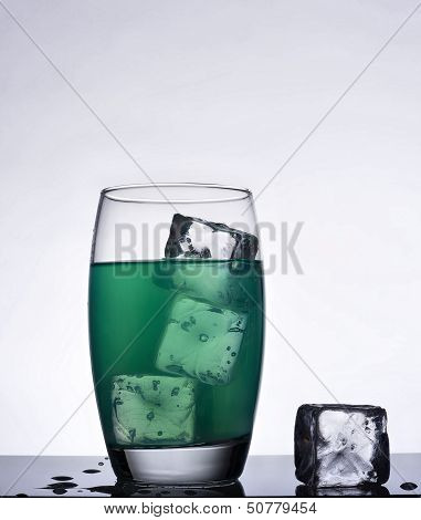 Iced Mint Flavored Drink