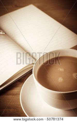 Journalling With Cup Of Tea
