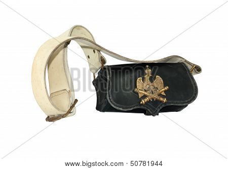 Old French Artillery Bag