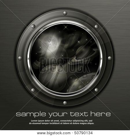 Grayscale Porthole