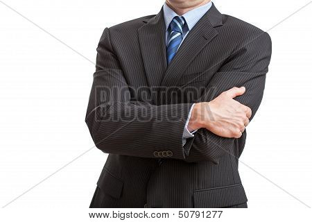 Man With Closed Posture