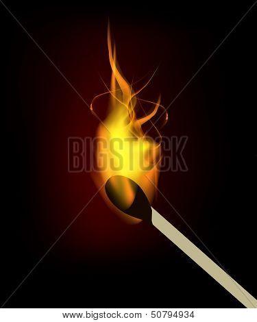 Vector Burning Match