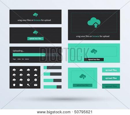 UI set the flat design trend.