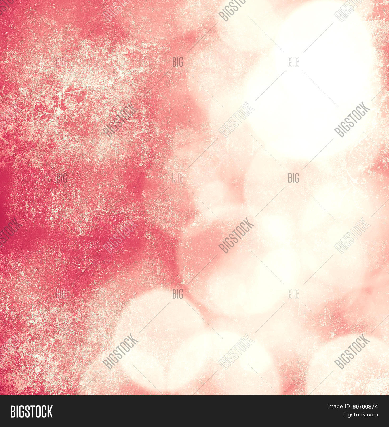 Soft Pink Bokeh Retro Background