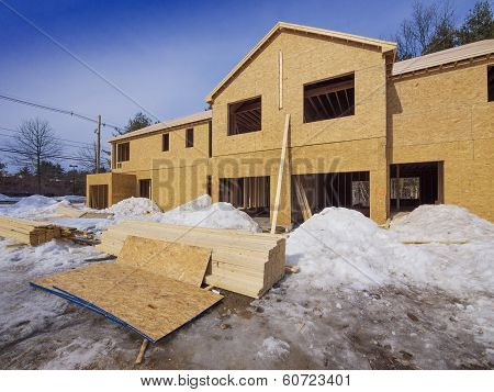 New town house construction