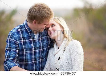 Young Couple Looking Lovingly At Each Other