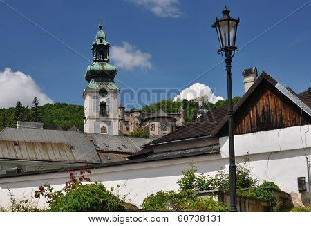 Old Castle In Banska Stiavnica