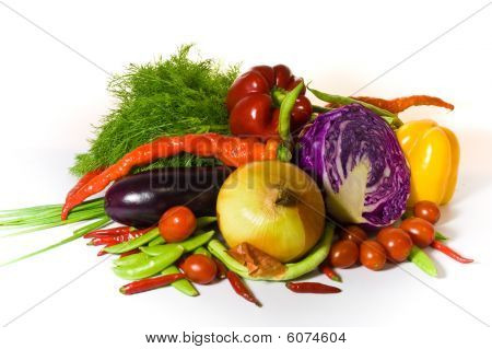 Fresh Vegetable Variety.