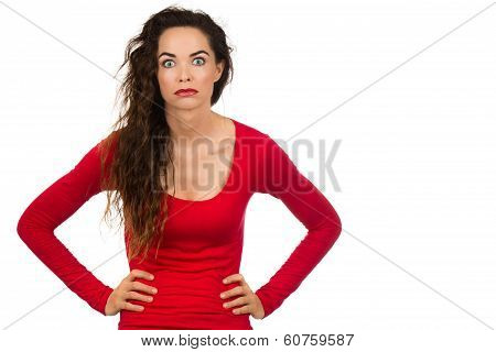 Fed Up Frustrated Woman