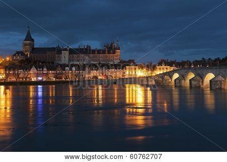 View Of Gien, Loiret, France