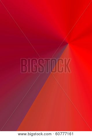 A gradient effect background in reds and purple poster