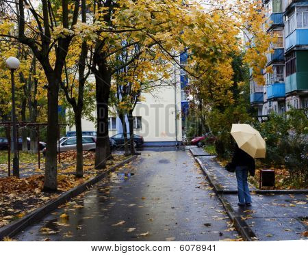 Rainy Day In The Town