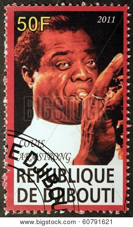 Louis Armstrong Stamp