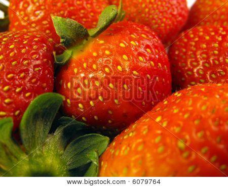 Strawberries bunch