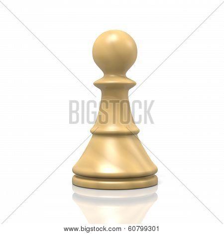 White Chessman