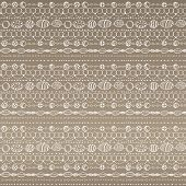 Seamless pattern with lacy design. This is file of EPS8 format. poster