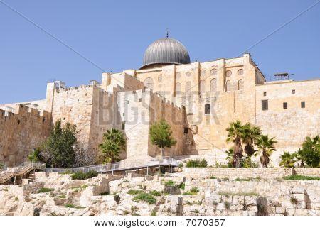 Al Aqsa Mosque. Jerusalem.