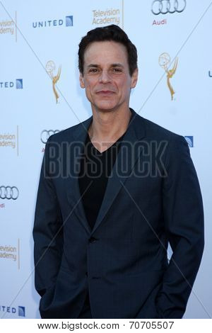 LOS ANGELES - AUG 23:  Christian LeBlanc at the Television Academy's Perfomers Nominee Reception at Pacific Design Center on August 23, 2014 in West Hollywood, CA