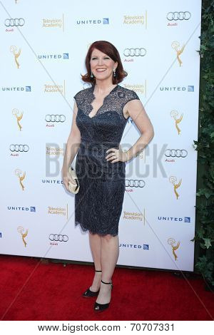 LOS ANGELES - AUG 23:  Kate Flannery at the Television Academy's Perfomers Nominee Reception at Pacific Design Center on August 23, 2014 in West Hollywood, CA