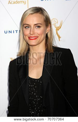 LOS ANGELES - AUG 23:  Taylor Schilling at the Television Academy's Perfomers Nominee Reception at Pacific Design Center on August 23, 2014 in West Hollywood, CA