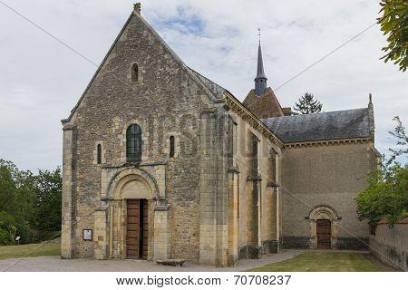 Church Saint Parize Le Chatel