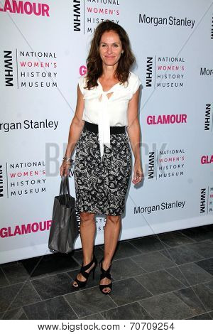 LOS ANGELES - AUG 23:  Amy Brenneman at the 3rd Annual Women Making History Brunch at Skirball Center on August 23, 2014 in Los Angeles, CA