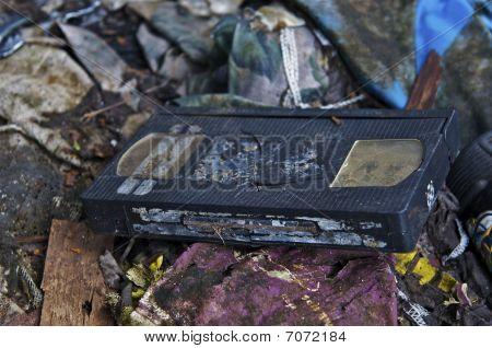 Broken Video Tape