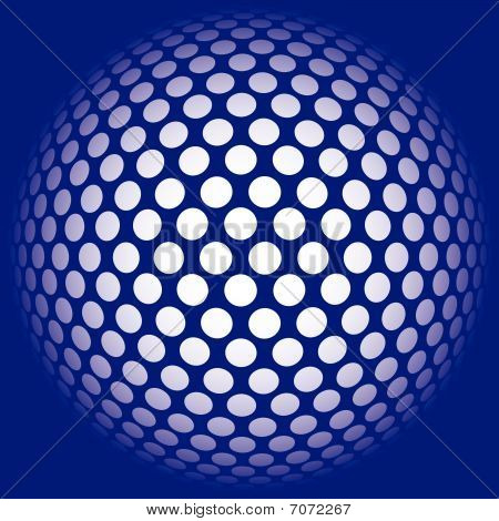 ball background  abstract mosaic