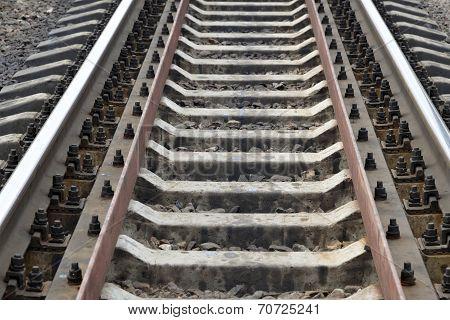 Railway track filling frame