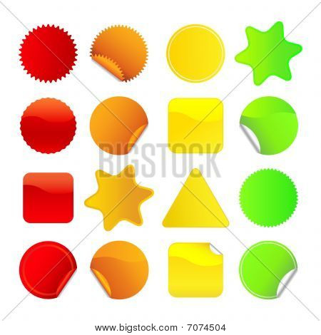 Bright Stickers - Set 1