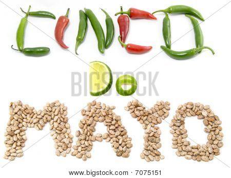 Cinco De Mayo Food Sign