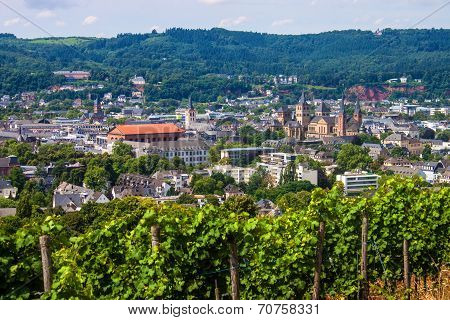 Aerial View Of Trier