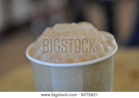 Root Beer Vanilla Ice Cream Float Bubbles Froth