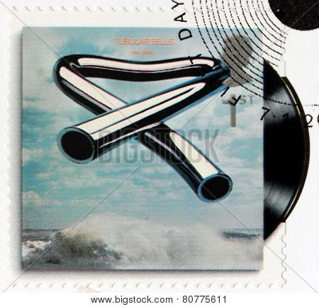 Mike Oldfield Stamp