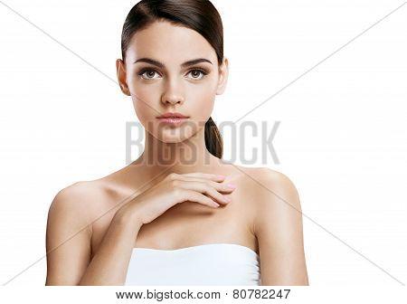 Nice girl with makeup