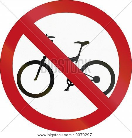 No Bicycles In Colombia