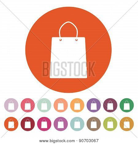 The Shopping Bag Icon