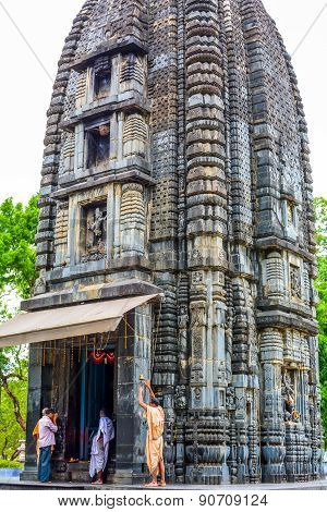 Very old stone carved Hindu temple