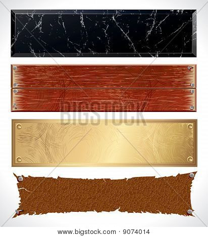 Textured Web Banners