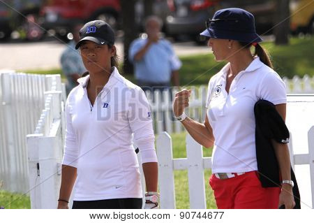 Celine Boutier And Patricia Meunier-lebouc At The Ana 2015