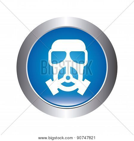 danger zone symbol over white background vector illustration