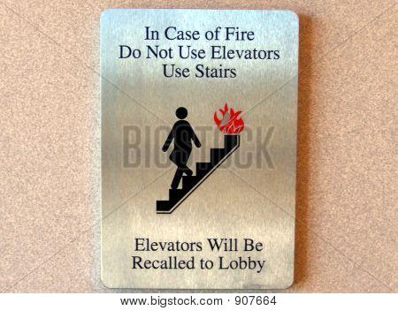 Hazard Safety Sign