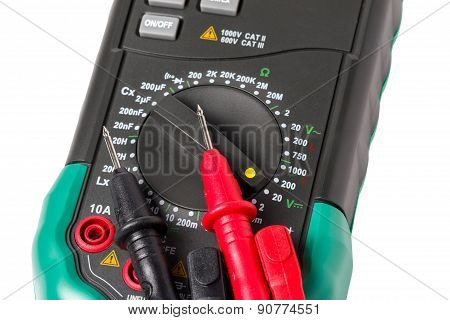 Isolated multimeter with probes