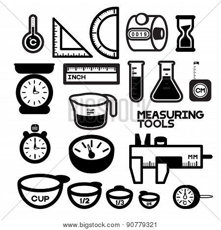 MEASURING TOOLS B/W