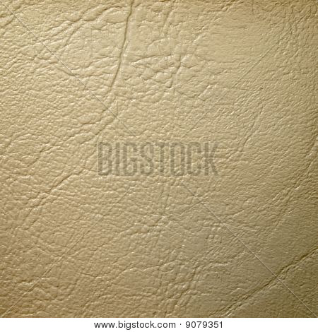Cream Leatherette Background
